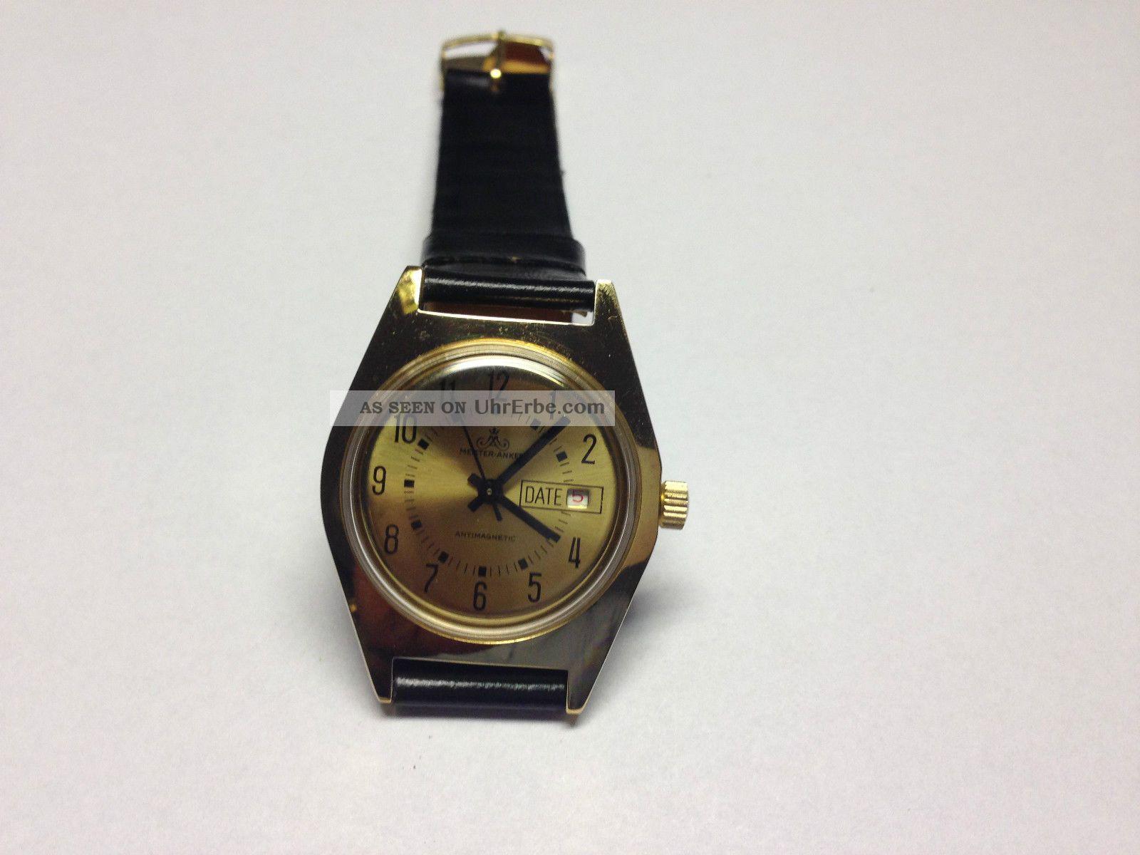Meister Anker Herren Armband Uhr,  Handaufzug,  Top (1) Armbanduhren Bild