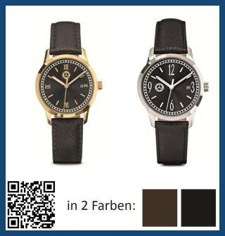 Mercedes Benz Armbanduhr / Uhr Herren Aus Edelstahl | Farbe Wählbar Bild