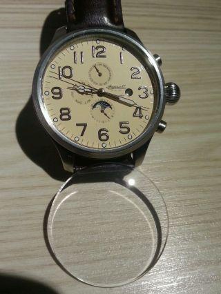 Herrenuhr Sammleruhr Ingersoll Automatik Uhr Große Uhr Nr In1600 Bild