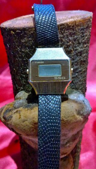 Timex Ssq Vintage Quarz - Armbanduhr Bild