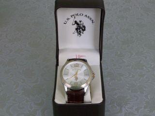 Uhr Herrenuhr U.  S.  Polo Assn.  Armbanduhr Ungetragen Bild