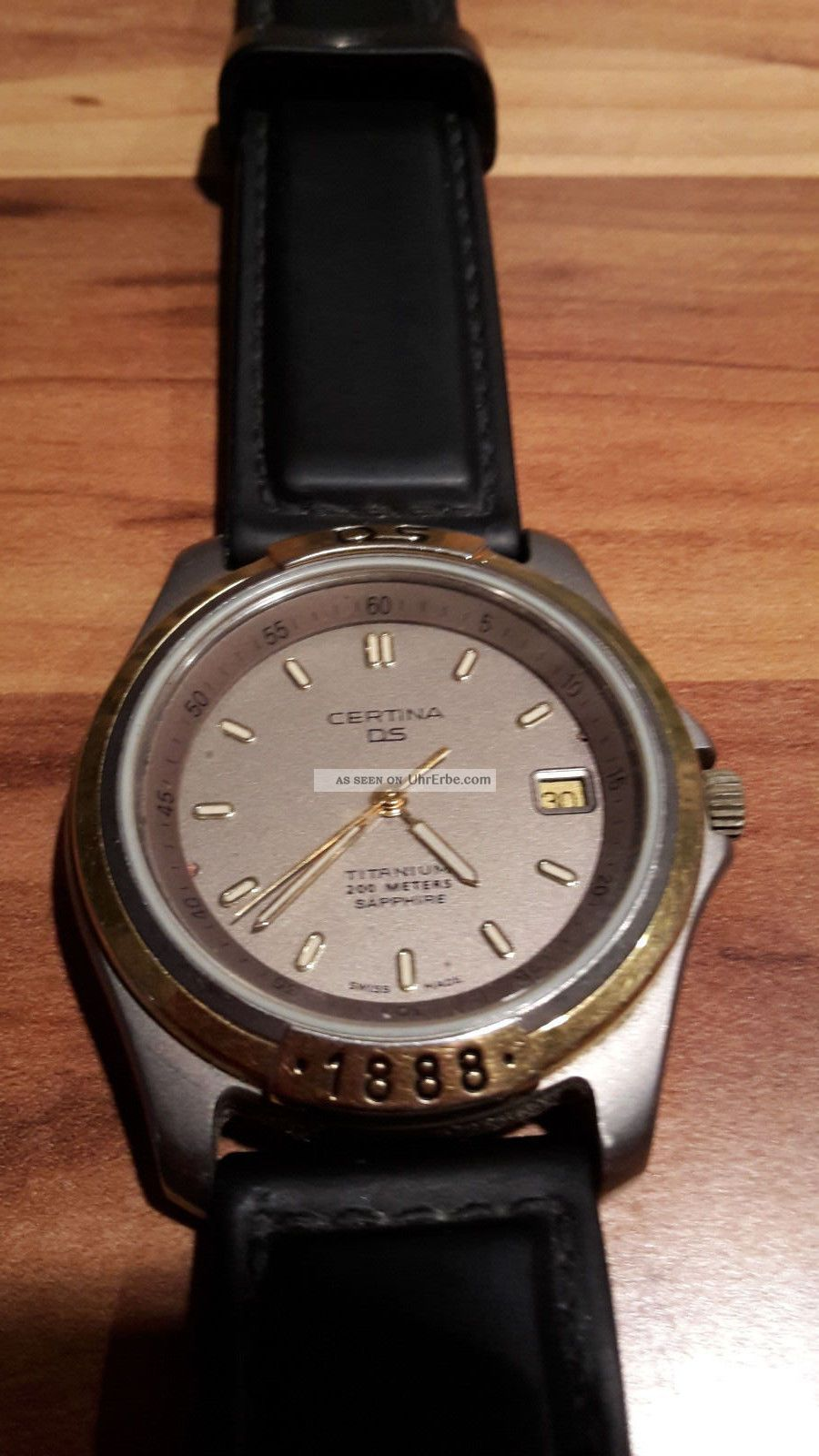 Certina Ds 1888 Saphire Quartz Herren Armbanduhr Top Gepfelgt Armbanduhren Bild