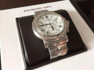 Raymond Weil Parsifal Geneve Automatik Swiss Made Uhr Armbanduhr Bild