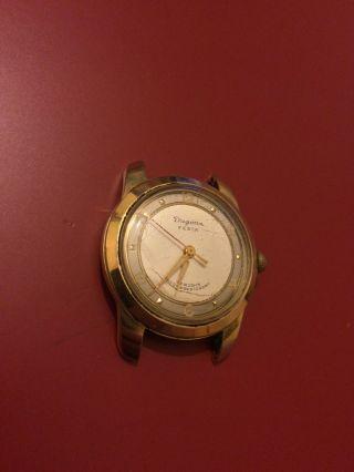 Vintage Dugena Festa Herrenarmbanduhr Handaufzug Kaliber As 1287,  Funktioniert Bild