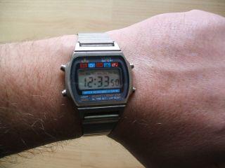 Uhr Sammlung Alte Retro Meister - Anker Cr2016 Digital Herren Armbanduhr Bild