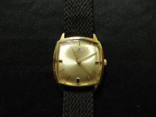 Junghans 17 Jewels Vergoldete Herren Armbanduhr Handaufzug. Bild