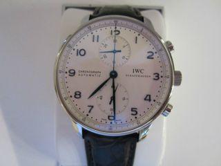 Iwc Portugieser Chrono Automatic Armbanduhr Für Herren (iw371446) Bild