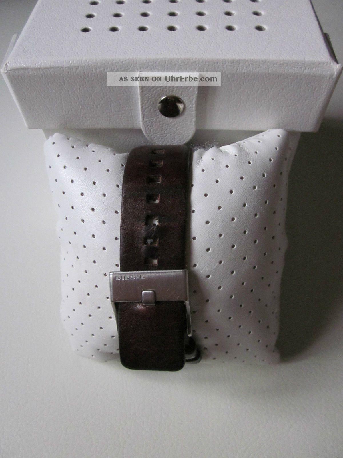 diesel herren armbanduhr lederarmband watch dz 1175. Black Bedroom Furniture Sets. Home Design Ideas