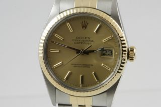 634fa2131bc Rolex Datejust Stahl/gold Ref. 16013 Automatik (revision) Bild