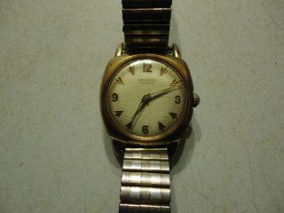 Junghans 17 Jewels Vergoldete Herren Armbanduhr,  Handaufzug. Bild