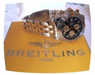 Breitling Windrider Chronomat Evolution Stahl/gold Ref:nr:13356 Bild