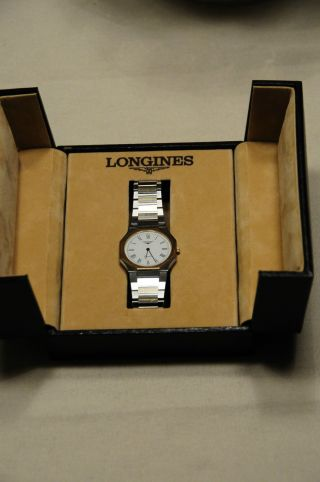 Longines Herren Armbanduhr Stahl - Gold Sehr Elegant - Bild