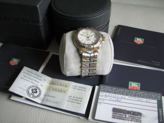 Orginal Tag Heuer 6000 Professional Chronometer Herrenuhr Mit Papieren Top Bild