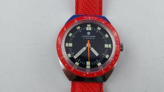 Sportliche Junghans Armbanduhr,  17 Jewels,  Handaufzug,  Topzustand Bild