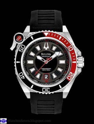 Bulova By Citizen Precisionist Uhr Pro Diver Taucheruhr 300 M.  Catamount Bild