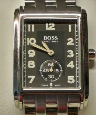 Hugo Boss Herren Armbanduhr In Stahl Bild