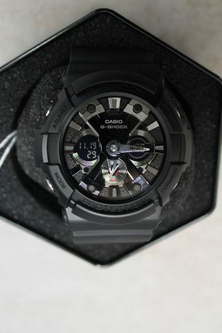 Casio G - Shock Quartz Armbanduhr Ga201 - 1a,  Schwarz Bild
