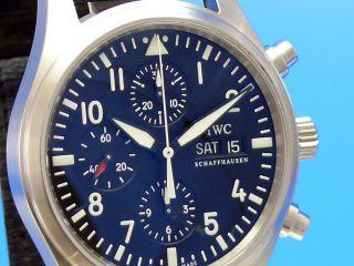 Iwc Fliegerchronograph 3717 Vom Uhrencenter Berlin Bild