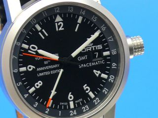 Fortis Spacematic Edition Yuri Gagarin Gmt 624.  22.  11.  Yge.  N11 Bild