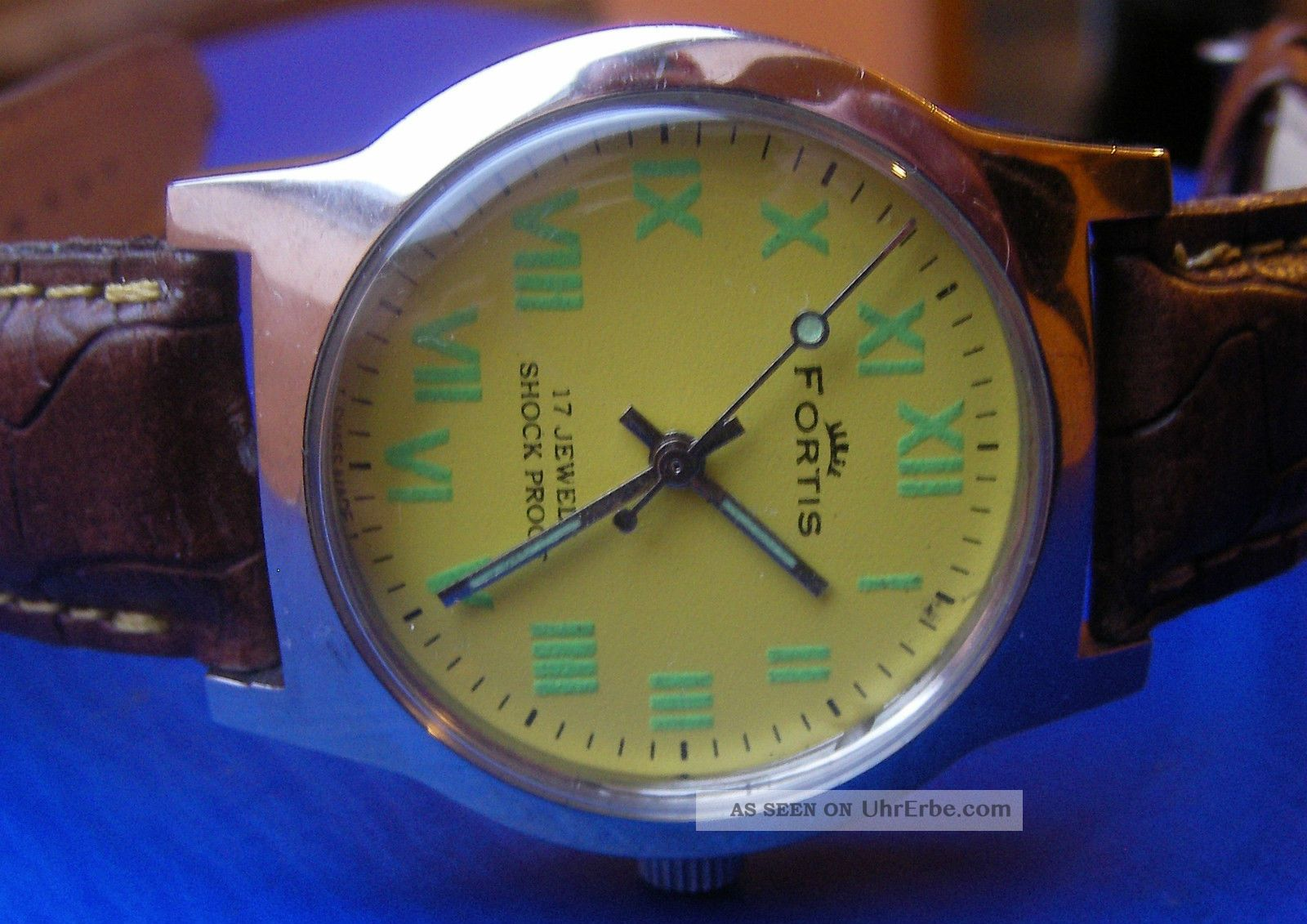Fortis Hau Aus 1970er Im Edelstahlgehäuse Armbanduhren Bild