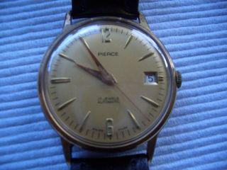 Pierce Automaticuhr 50er Jahre Analog,  Herren,  Klassisch - Elegant,  Datumsanzeige, Bild