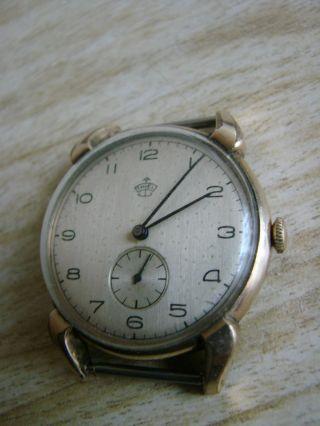 Antike Armbanduhr Thiel Bild