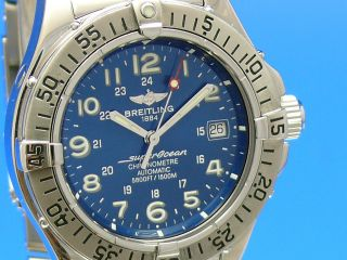 Breitling Superocean 42 Mm A17360 Automatik Ankauf Von Luxusuhren 03079014692 Bild