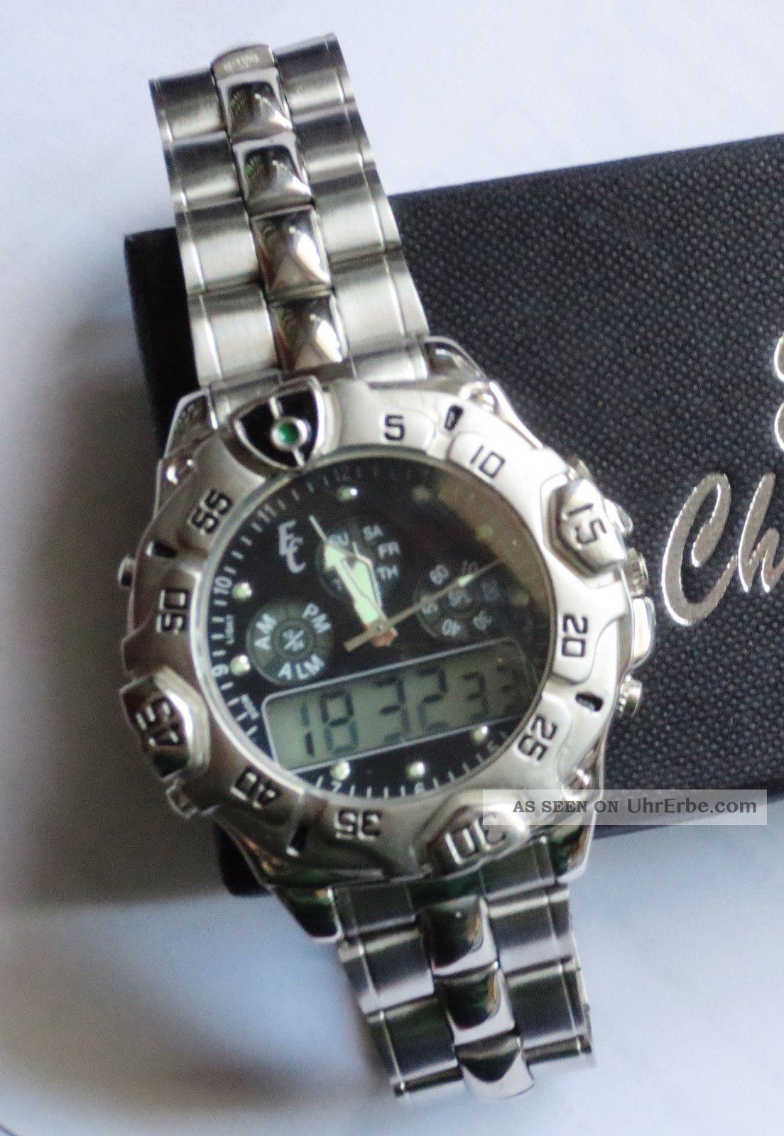 Armbanduhr Im Military/outdoor - Style Von Eric Chevillard Ungetragen Armbanduhren Bild