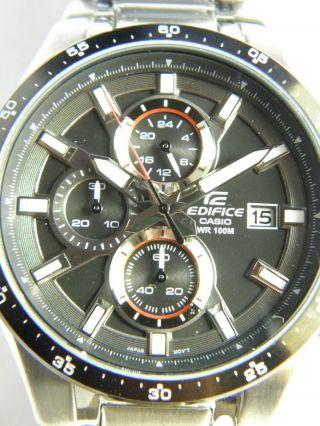 Casio Herrenuhr Edifice Efr - 519d - 1avef Chronograph & Ungetragen Lp: 129 €uro Bild