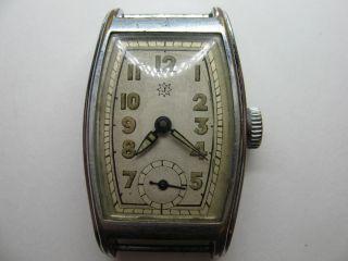 Junghans - Herrenuhr - Kal.  J95 Mit 15 Jewels - 1935/1940 - Läuft Einwandfrei Bild