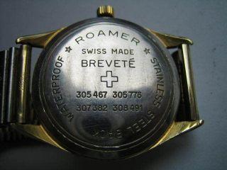 Herren - Armbanduhr Roamer Swiss Made Brevete Bild