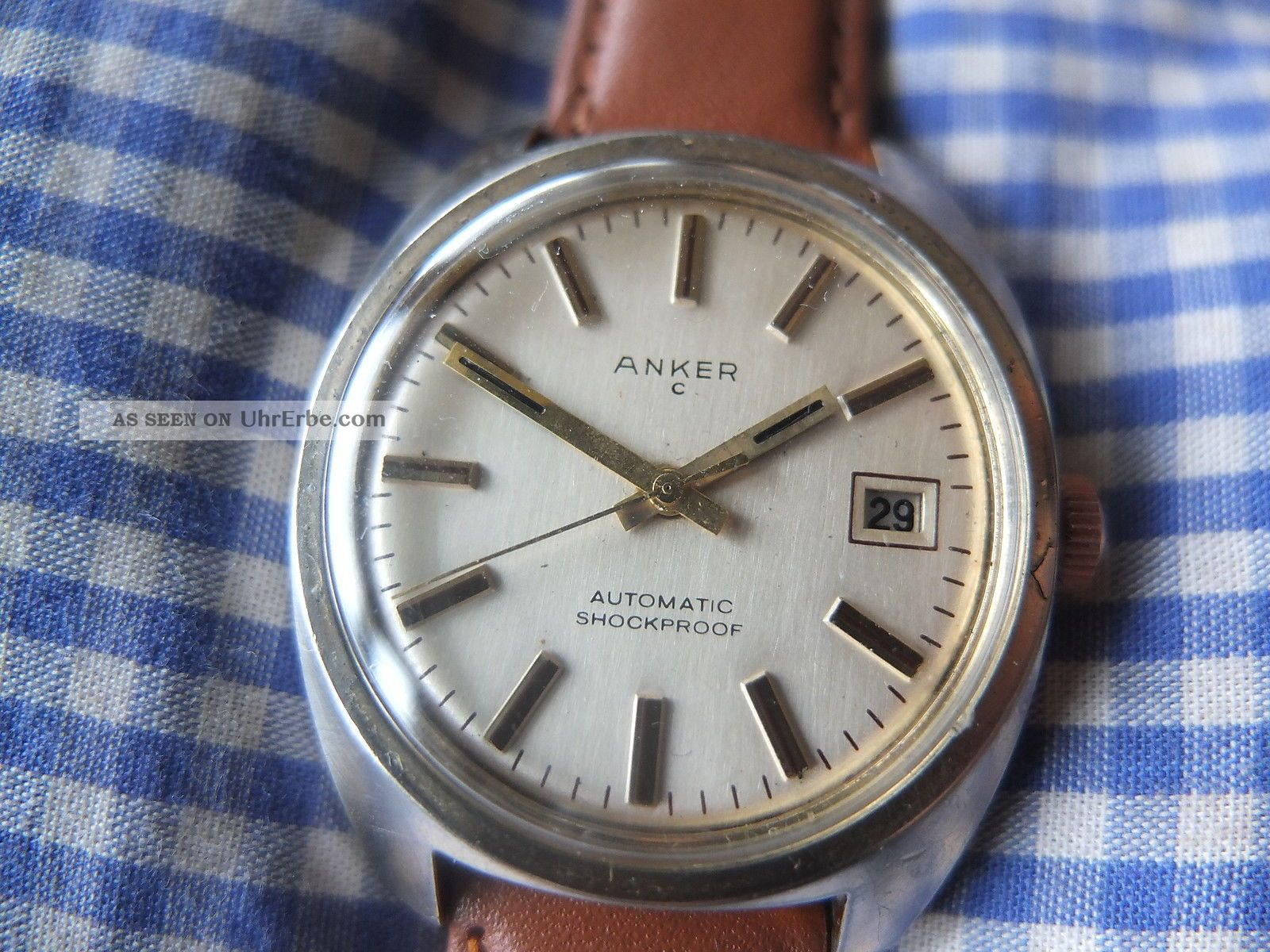 1970er Herrenuhr Anker Automatic Armbanduhren Bild