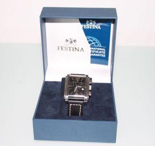 Festina Chronograph F16081 - Havanna - Top - Bild