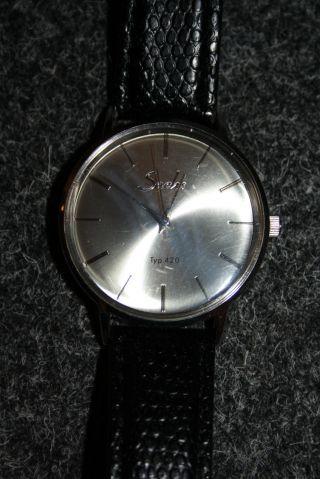 Sachs Typ 420 Herrenuhr Uhr Keine Kratzer Auf Dem Glas Bild