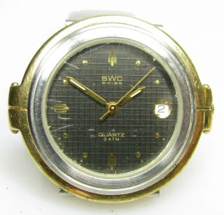 Bwc Bicolor Quartz Armbanduhr Mit Metall - Armband Bild