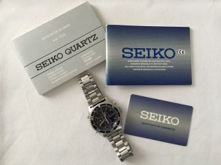 Seiko Quartz Chronograph Sports 150 Bild
