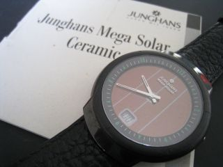 Junghans Solaruhr Junghans - Mega - Solar - Ceramic Hau Junghans Bild