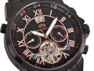 Roebelin & Graef Luxus Automatkuhr Mit Glasboden,  Armbanduhr,  Herrenuhr, Bild