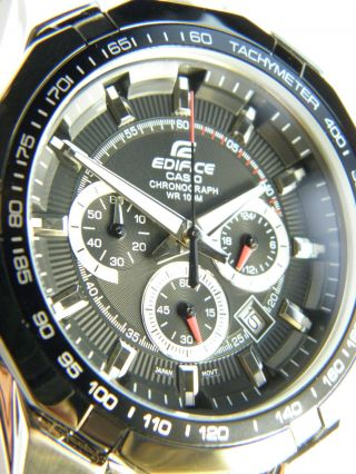 Casio Herrenuhr Edifice Ef - 540d - 1avef Chronograph & Ungetragen Lp: 129 €uro Bild