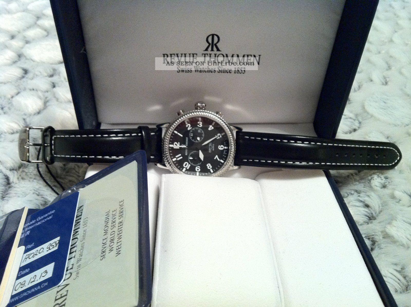 Revue Thommen Armbanduhr Für Herren Armbanduhren Bild