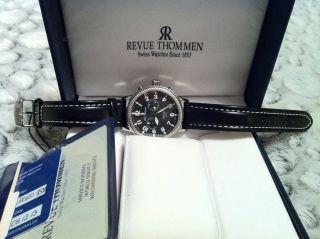 Revue Thommen Armbanduhr Für Herren Bild