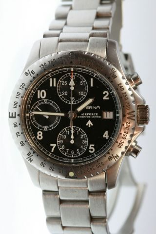 Eterna - Matic Airforce Chronograph Bild