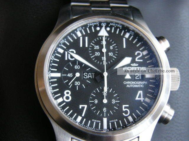 Fortis B 42 Flieger Chronograph 6561011m Armbanduhren Bild