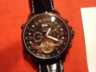 M.  Johansson Herren Diamond Edition Automatik Uhr Ansehen Bild