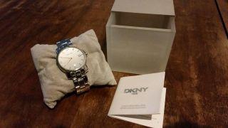 Dkny Time Herren - Armbanduhr Wie Modell 2002 Kompl.  Inkl.  Box Und Anleitung Bild