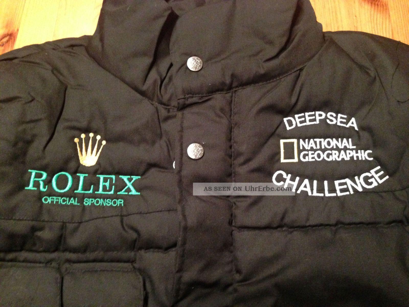 Rolex Deepsea Challenge By National Georgaphic Xxl Weste Armbanduhren Bild