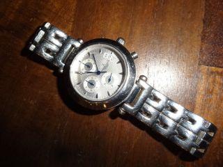 Jacques Cantani Chronograph Wr10 Atm Mit Datumsanzeige Herrenarmbanduhr Bild