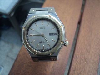 Seiko Herren Armband Uhr Bild