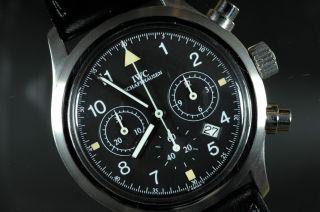 Iwc 3740 Pilots Watch,  Der Fliegerchronograph Bild