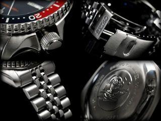 Nagelneu Seiko Skx009k2 Pepsi Jubilee 5 Automatik Armbanduhr Scuba Diver ' S 200m Bild
